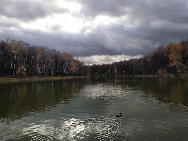 Измайловский парк. Красный пруд.