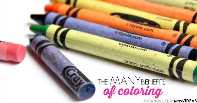 the many benefits of coloring with crayons the ot toolbox