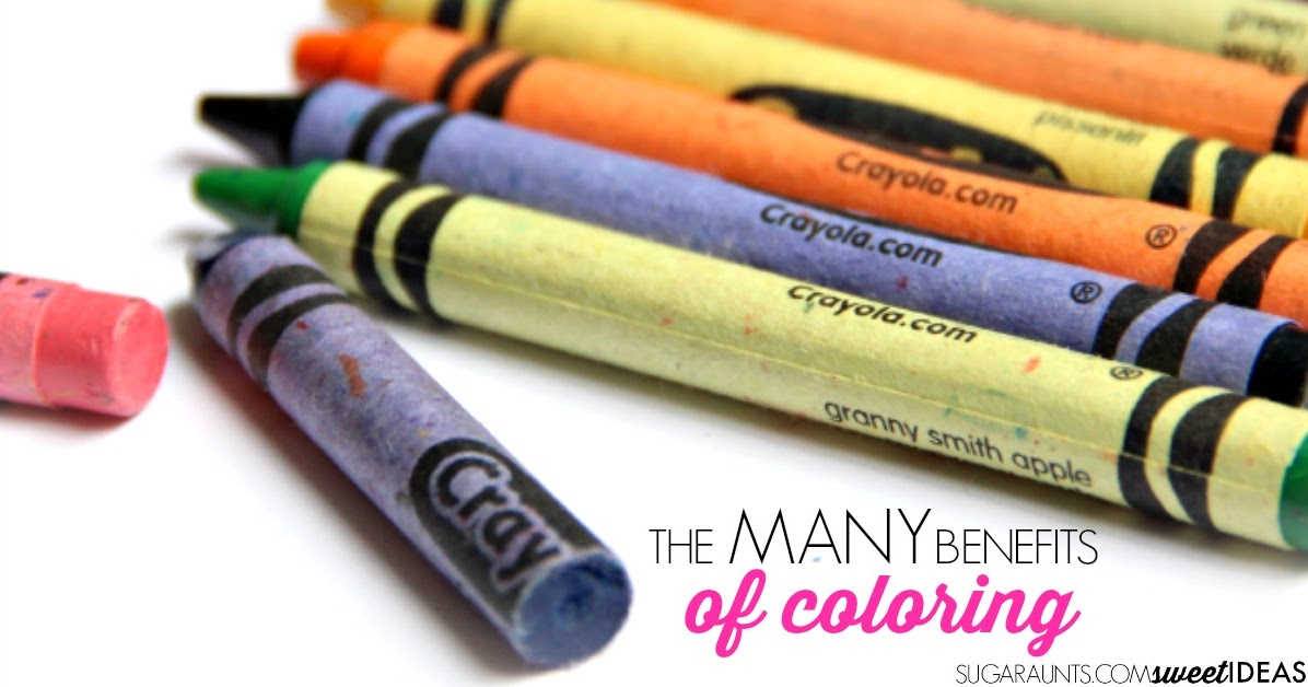 The Many Benefits Of Coloring With Crayons
