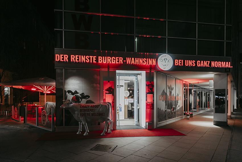 Rinderwahn-Restaurant in der Praterstrasse
