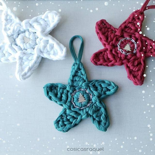 adornos de navidad de ganchillo Navidad Ganchillo Cool Mano De Ganchillo Adornos De Navidad