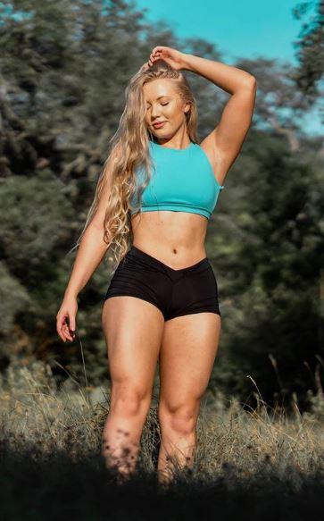 Imperdible Las Mas Sexy Fotos De Chica Fitness En Short