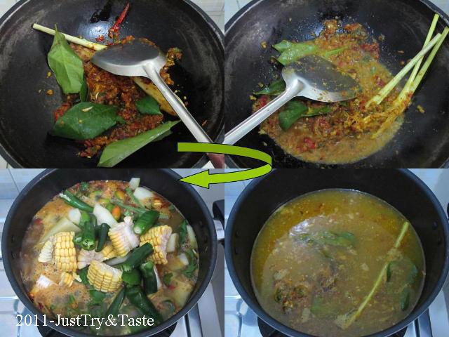 Resep Sayur Goreng Asam