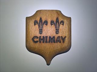 Un décapsuleur Chimay en bois