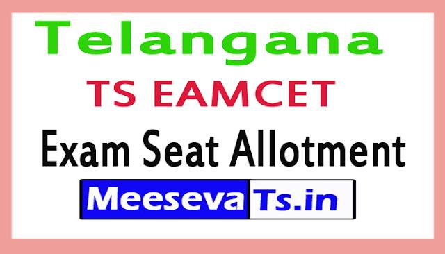 Telangana TS EAMCET Exam Seat Allotment
