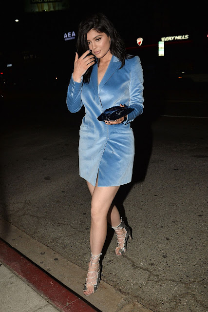 Kylie Jenner Hot Night Out Style