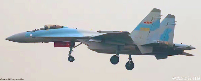 Su-35 PLA-AF  Gambar: Chinese Military Aviation