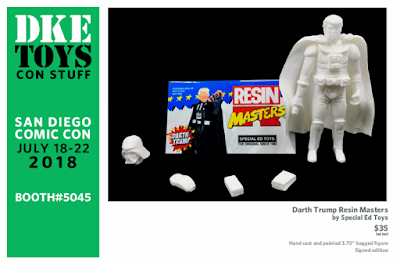 San Diego Comic-Con 2018 Exclusive Darth Trump Resin Masters Resin Figure by Special Ed Toys