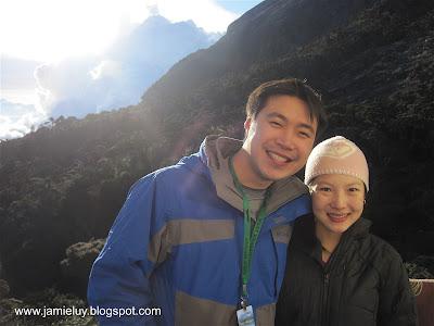 Climbing Mount Kinabalu, Kota Kinabalu, Malaysia