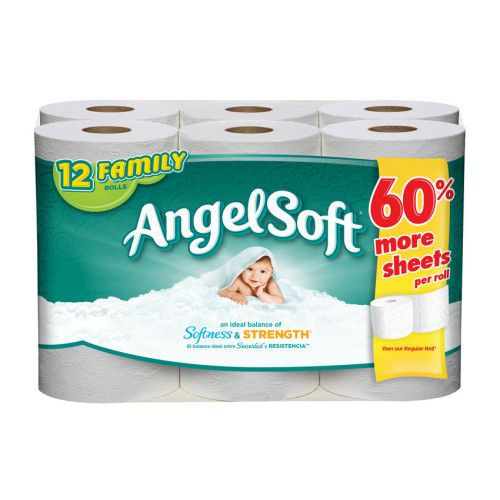 Dollar General Angel Soft Toilet Paper As Low As 2 25