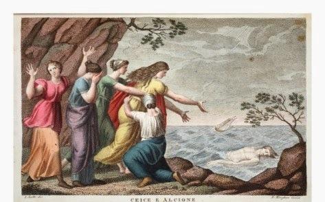 Illustration from Ovid Metamorphoses Florence 1832