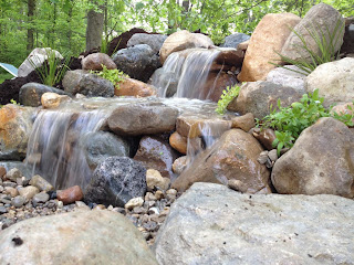 spring for pondfree waterfall
