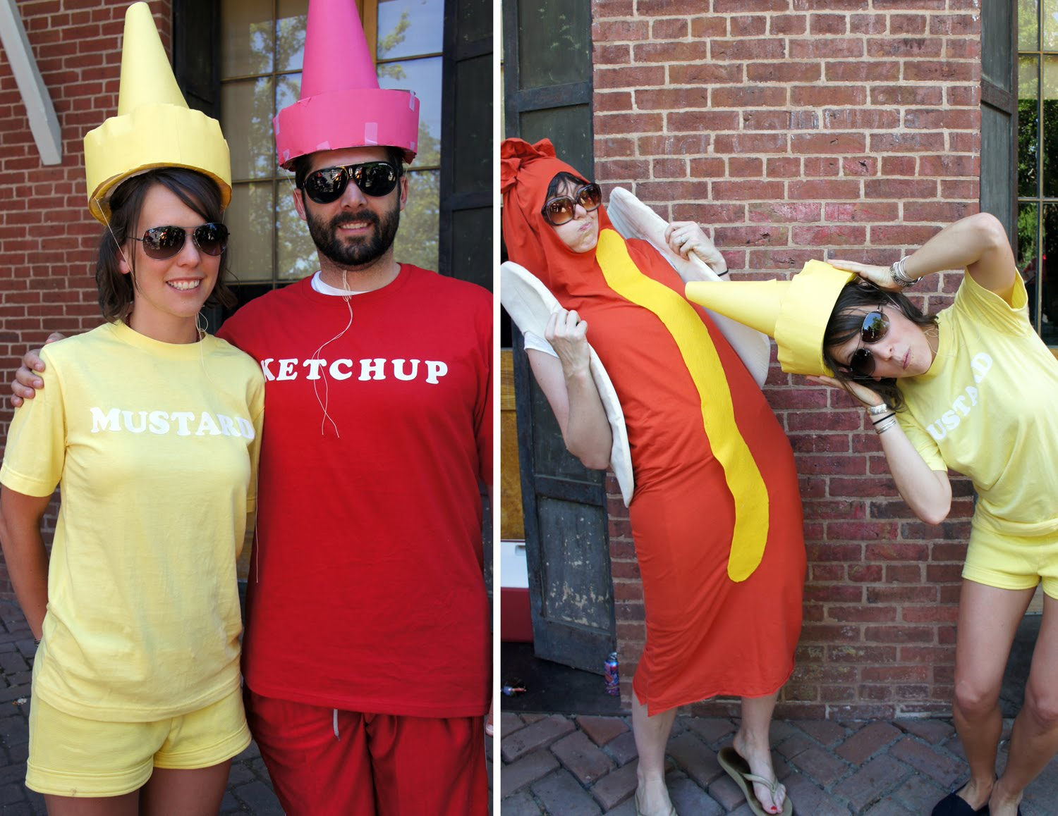...which Wouldnu0027t Be Complete Without The Ketchup And Mustard Sc 1 St  Permanently Disco. image number 29 of homemade ketchup costumes ...