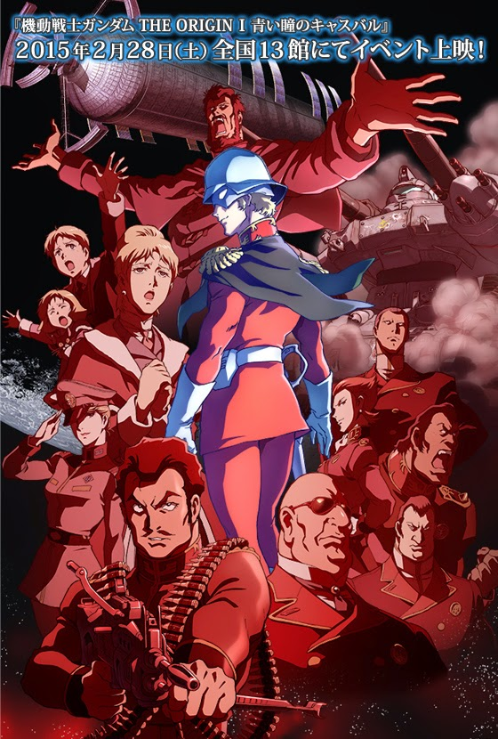 mobile suit gundam the origin  Latino Subtitulado