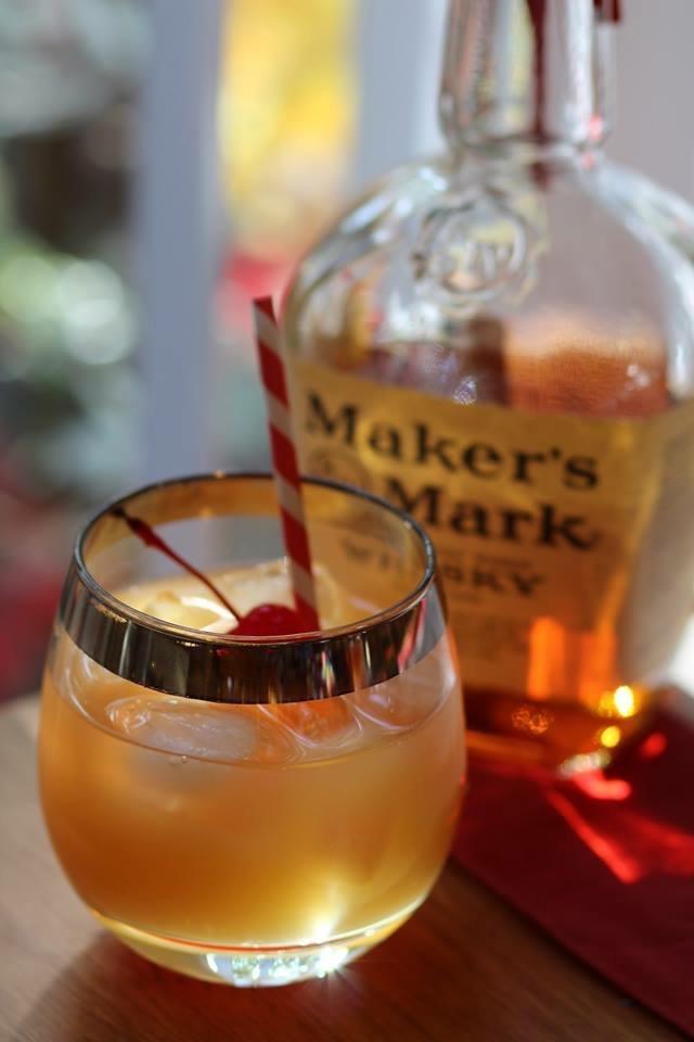 Krismulkey Com My Favorite Maker S Mark Cocktail Recipe