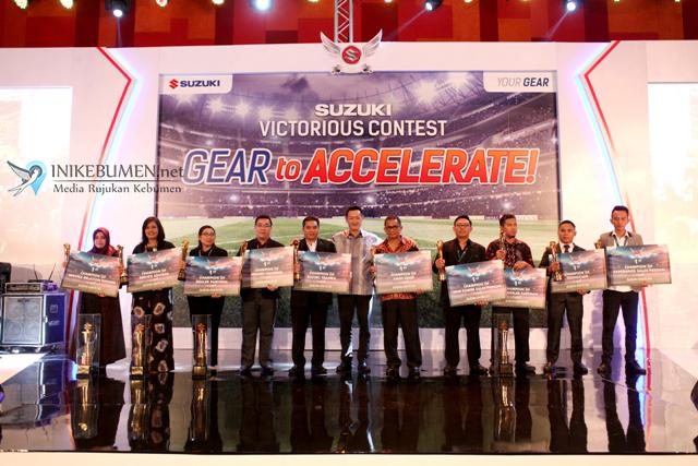 Suzuki Gelar Kontes bagi Para Tim Penjualan dan Tim Layanan Purna Jual