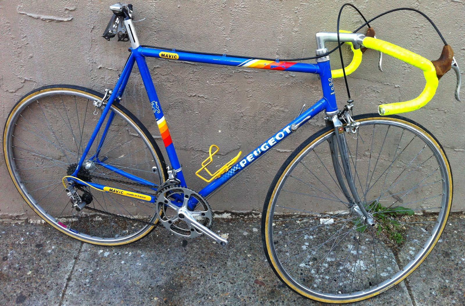 peugeot 1980s bikeville thoughts mavic