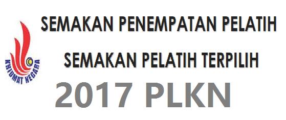 Semakan PLKN 2017