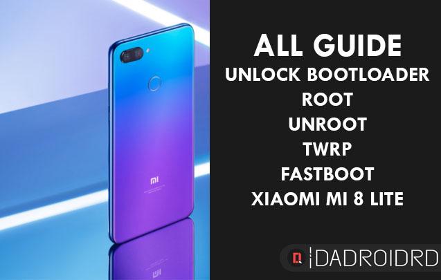 Tutorial paling lengkap cara UNLOCK BOOTLOADER, TWRP, ROOT, UNROOT dan FASTBOOT untuk Xiaomi Mi 8 Lite