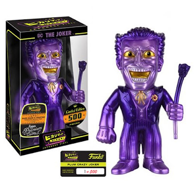 "The Joker ""Plum"" DC Comics Hikari Sofubi Vinyl Figure by Funko"