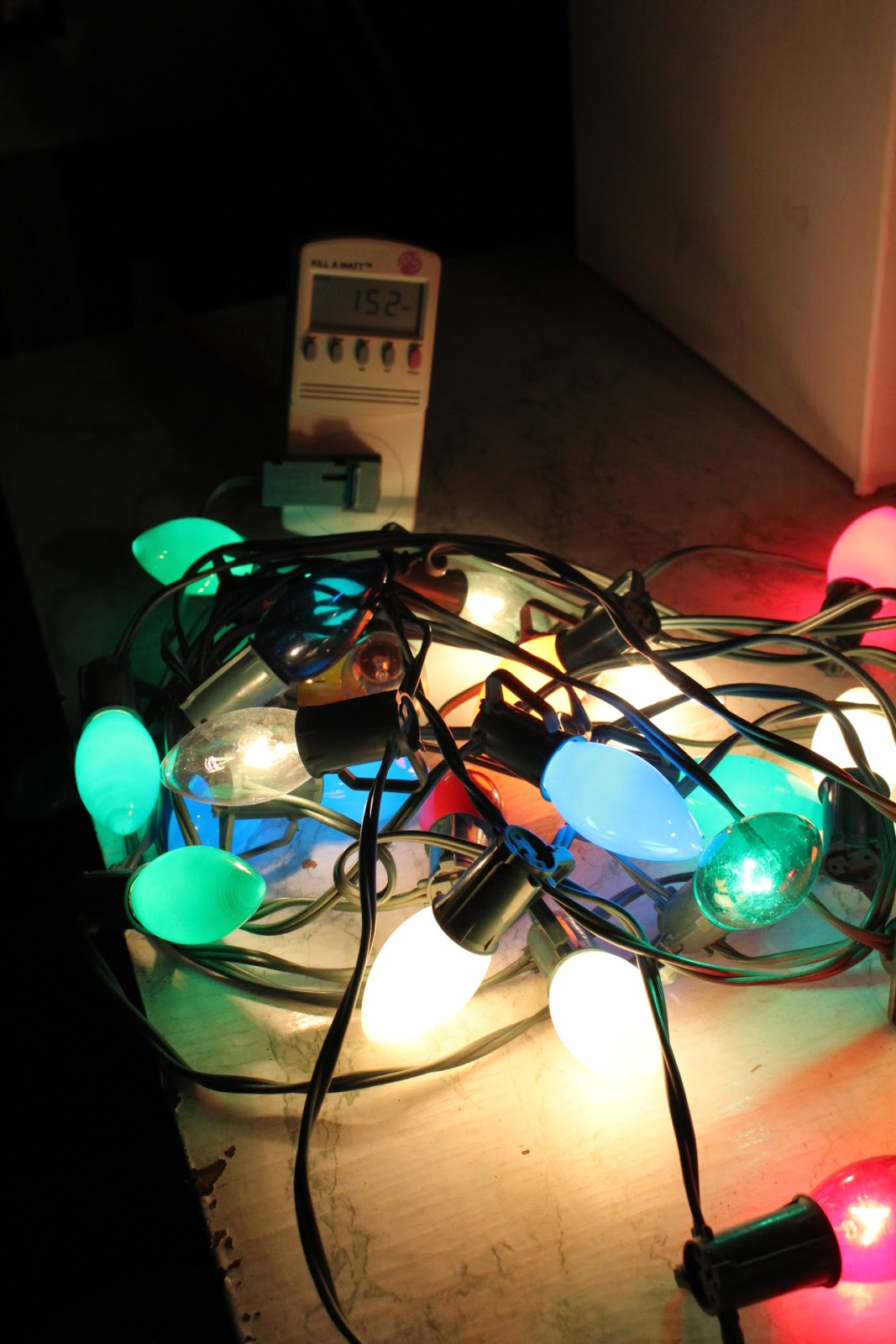 c9 incandescents about 160 watts - Philips C9 Led Christmas Lights