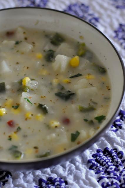 Quick-Poblano-Corn-Chowder-tasteasyougo.com