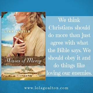 Quote from Waves of Mercy by Lynn Austin