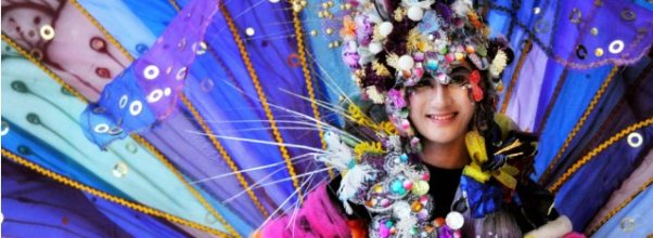 Jember Fashion Carnival in Indonesia