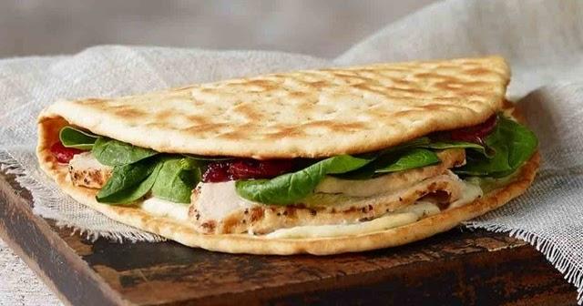 Turkey cranberry flatbread panera calories