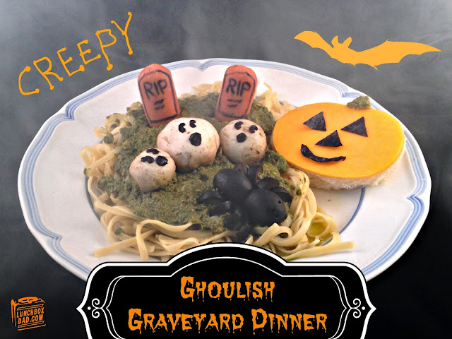 Fall Halloween graveyard meal #choosemart