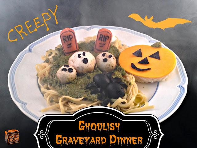 Fall Halloween graveyard meal #choosemart