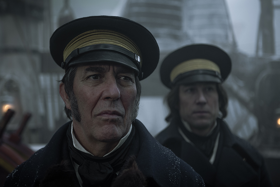the terrror - Ciarán Hinds y Tobias Menzies