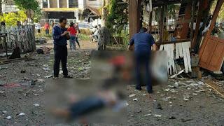 Bom Di Meledak Gereja Katolik Santa Maria