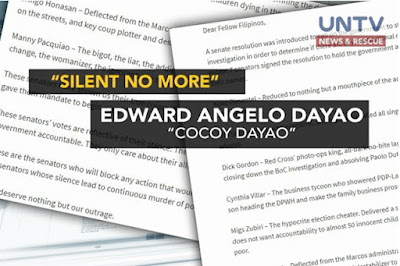 Senator Sotto to sue blogger Cocoy Dayao