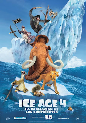 """""""Ice Age 4. La formación de los continentes"""" (Steve Martino y Mike Thurmeier, 2012)"""