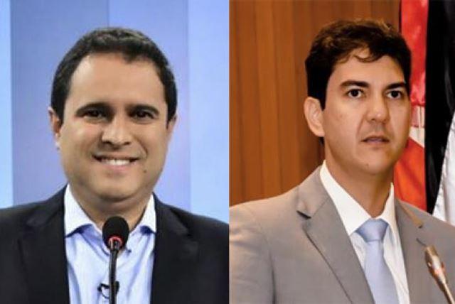 Prefeito Edivaldo (E) enfrenta o deputado e ex-presidente da Caema, Eduardo Braíde
