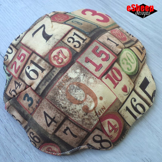 Quilted Fabric Plate by eSheep Designs