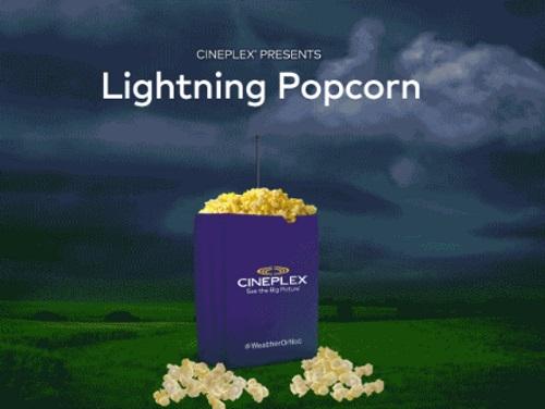 Cineplex Free Popcorn Contest