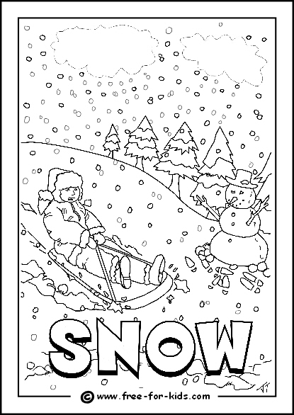 The English Corner Las Alhomas: Weather colouring pages, 2º