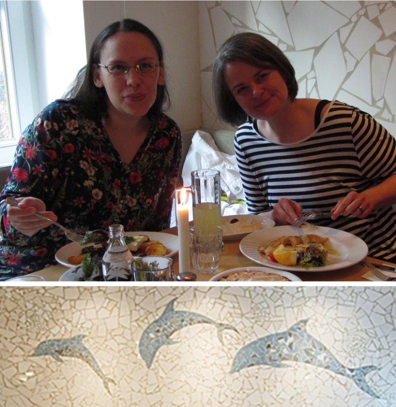 Mit Ela im Cyclades griechisch Essen