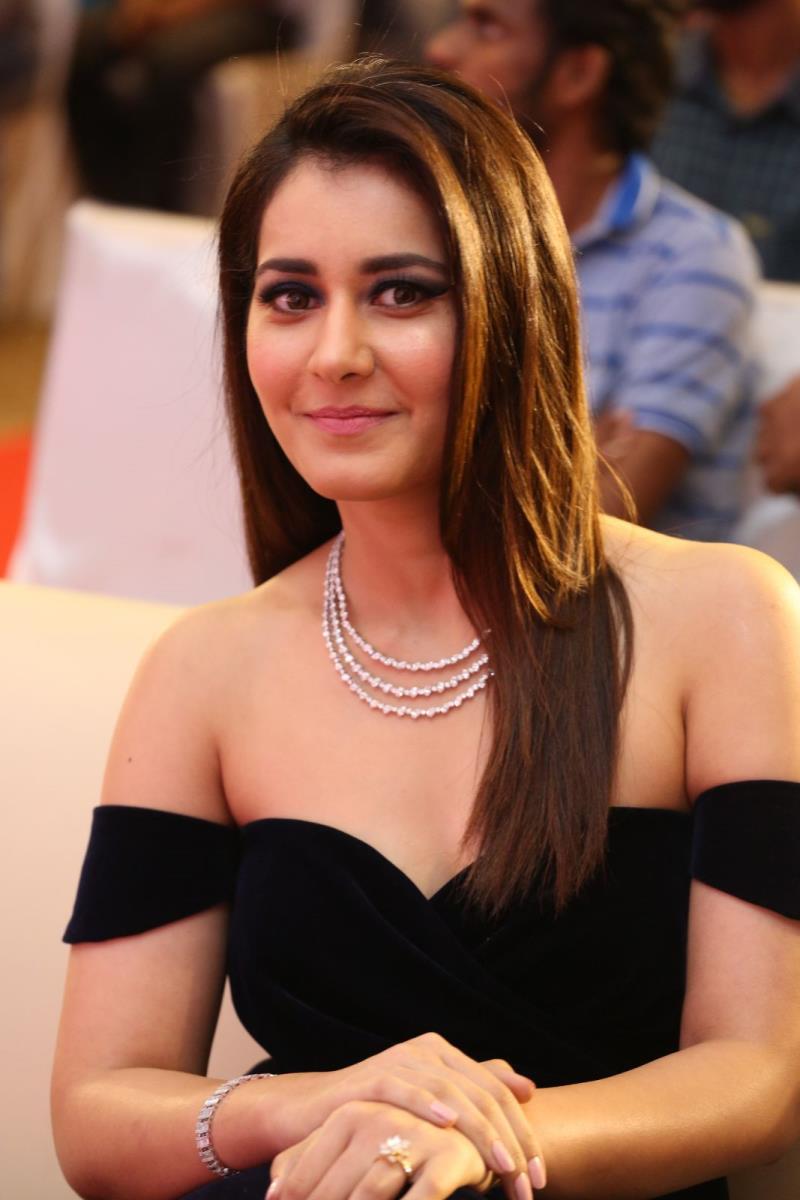 Beautiful Rashi Khanna at Jai Lava Kusa Audio Launch
