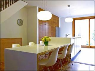 Dapur Rumah dan Ruang Makan Minimalis