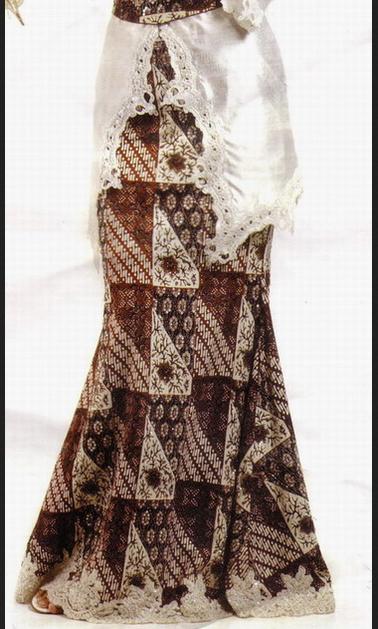 Rok batik Model Duyung