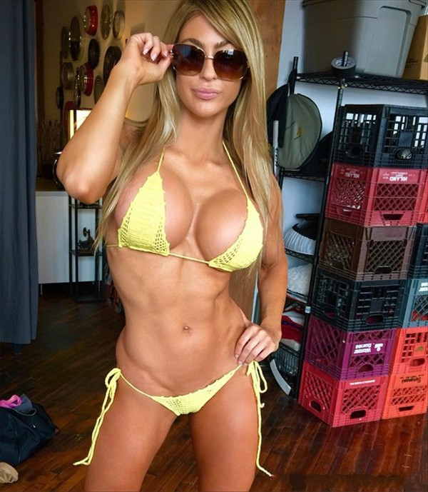 Laura Michelle Prestin fitness diva from Canada