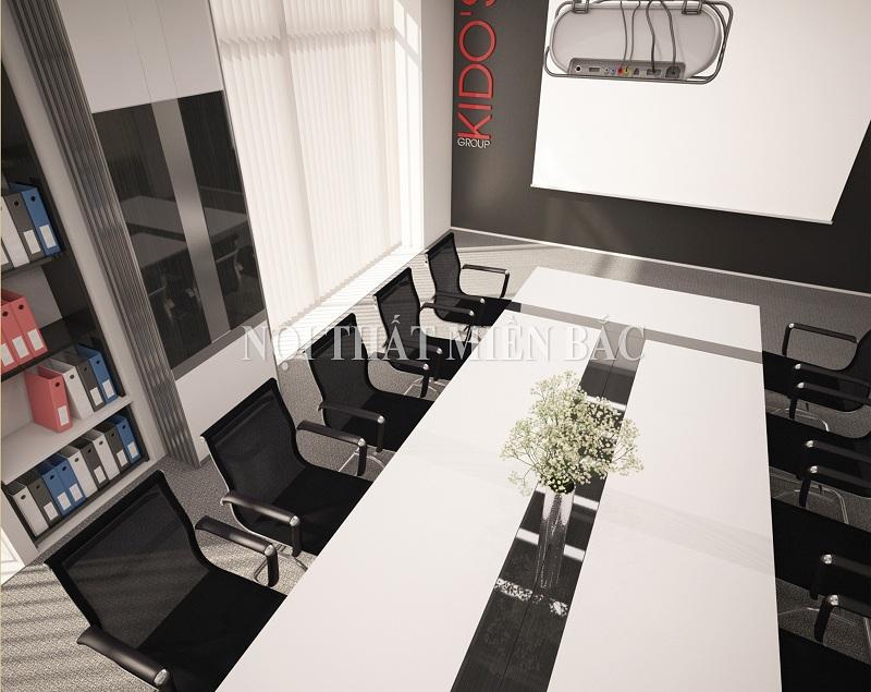 Thiết kế nội thất phòng họp sang trọng và linh hoạt