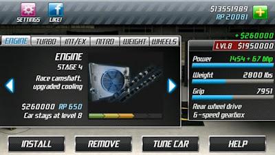 Download Drag Racing Classic v1.6.75 Apk Screenshot 4