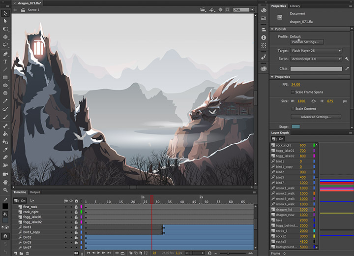 Adobe Animate CC 2019 v19.2.1.408 Full version