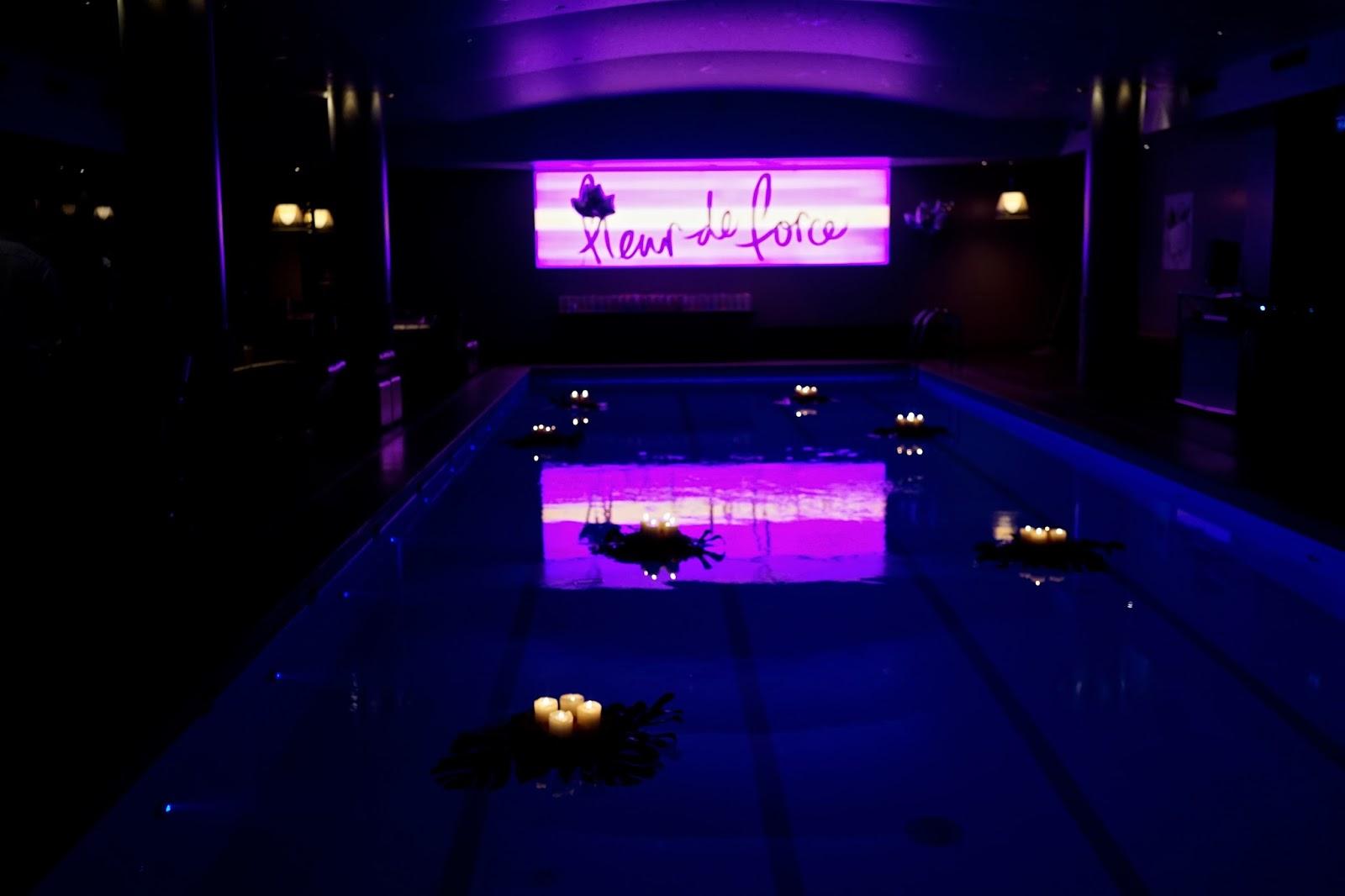 Fleur de force beauty launch party