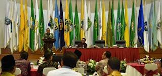 PANGLIMA TNI AJAK PARA GUBERNUR JAGA STABILITAS DAN MEMBANGUN DAERAHNYA