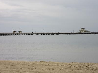 St. Kilda pier. Melbourne